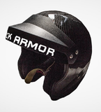 Black Armor Solo Pro 2 Carbon Fiber Auto Helmet SA2015 - Dialed In Racing