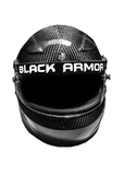 Black Armor Circuit Pro 2 Carbon Fiber Auto Helmet SA2015 - Dialed In Racing