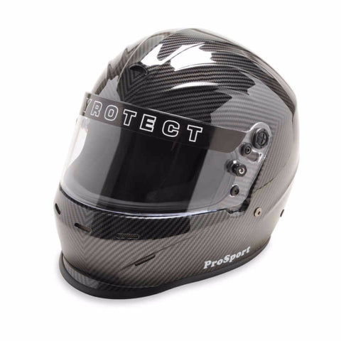SA2015 Pro Sport Duckbill Full Face Helmet - Carbon Graphic - Dialed In Racing