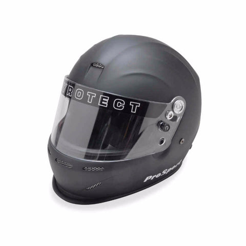 SA2015 Pro Sport Duckbill Full Face Helmet - Flat Black - Dialed In Racing