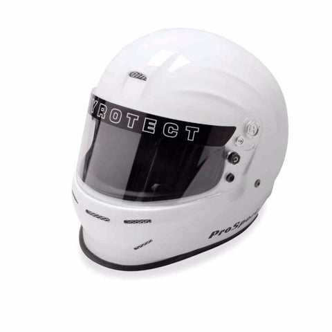 SA2015 Pro Sport Duckbill Full Face Helmet - White - Dialed In Racing