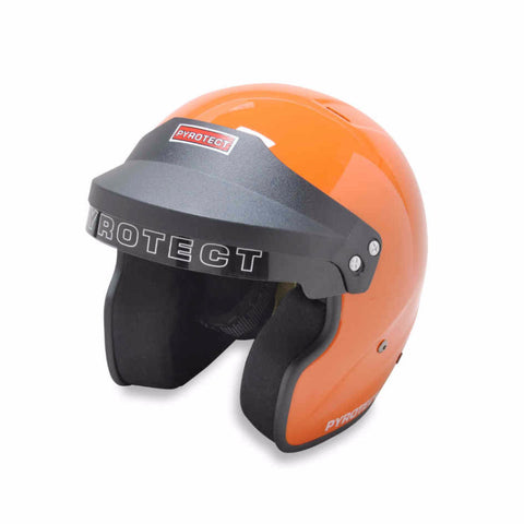 SA2015 Pro Sport Open Face Helmet - Orange - Dialed In Racing