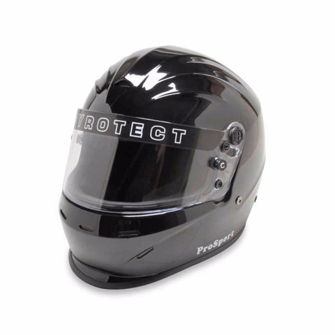 SA2015 Pro Sport Duckbill Full Face Helmet - Gloss Black - Dialed In Racing