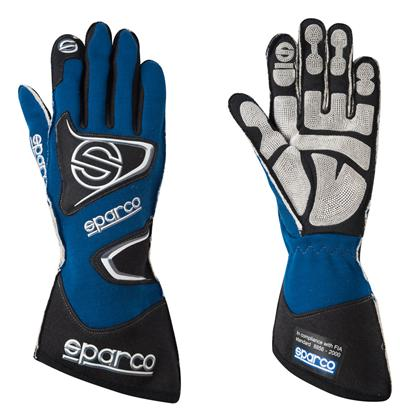 Sparco Gloves Tide H9 Size 11 Blue - Dialed In Racing