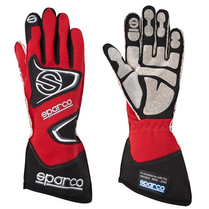 Sparco Gloves Tide H9 Size 7 Red - Dialed In Racing