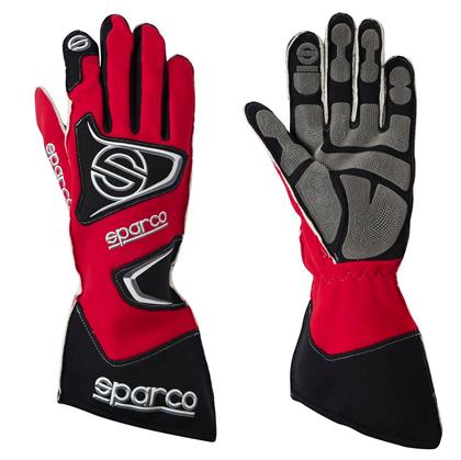 Sparco Gloves Tide Kg-9 Size 8 Red - Dialed In Racing