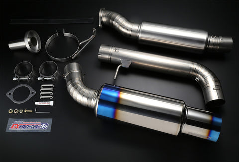 Tomei Expreme Ti Titanium Catback Exhaust Nissan 370z - Dialed In Racing