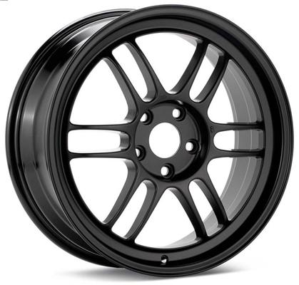 Enkei RPF1 17x9 5x100 45mm Offset Black Wheel - Dialed In Racing
