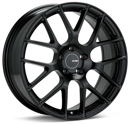 Enkei Raijin 18x8.5 45mm Offset 5x100 Bolt Pattern 72.6 Bore Diameter Black Wheel - Dialed In Racing