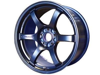 Gram Lights 57CR 18X9.5 +38 5X114.3 Eternal Blue - Dialed In Racing