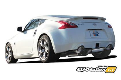 GReddy Nissan 370Z Evolution GT Full Dual Cat-Back Exhaust - Dialed In Racing