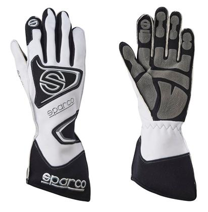 Sparco Gloves Tide Kg-9 Size 12 White - Dialed In Racing