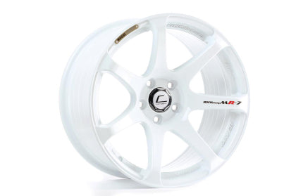 Cosmis Racing MR7 White Wheel 18x9 +25mm 5x100 - Dialed In Racing