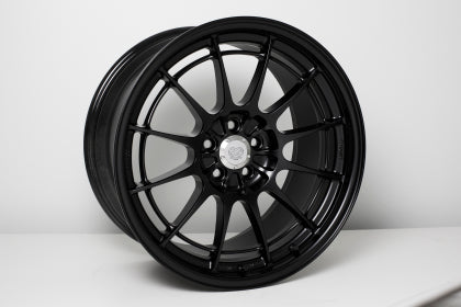 Enkei NT03+M 18x9.5 5x100 40mm Offset Black Wheel - Dialed In Racing