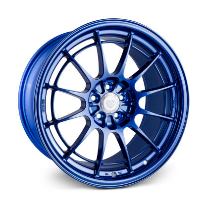 Enkei NT03+M 18x9.5 5x100 40mm Offset Victory Blue Wheel - Dialed In Racing