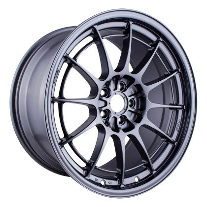 Enkei NT03+M 18x9.5 5x100 40mm Offset Gunmetal Wheel - Dialed In Racing