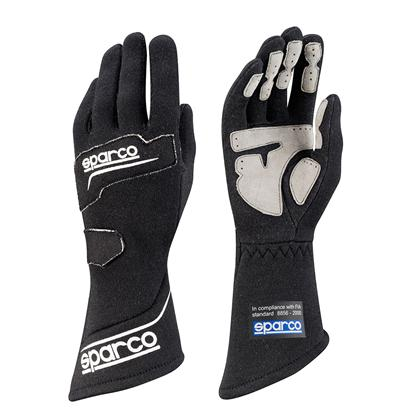 Sparco Glove Rocket Rg4 Size 8 Black - Dialed In Racing