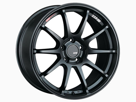 SSR GTV02 18x8.5 5x100 44mm Offset Flat Black Wheel - Dialed In Racing