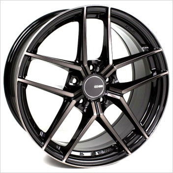 Enkei TY5 18x9.5 5x114.3 35mm Offset 72.6mm Bore Pearl Black Wheel - Dialed In Racing