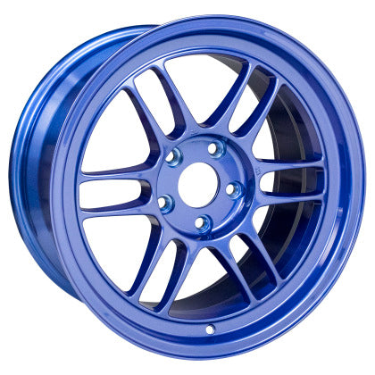 Enkei RPF1 17x9 5x114.3 22mm Offset 73mm Bore Victory Blue Wheel - Dialed In Racing