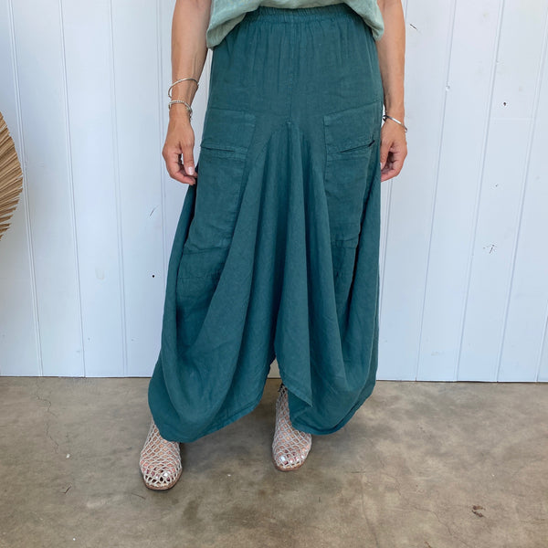 AMY SKIRT - TEAL