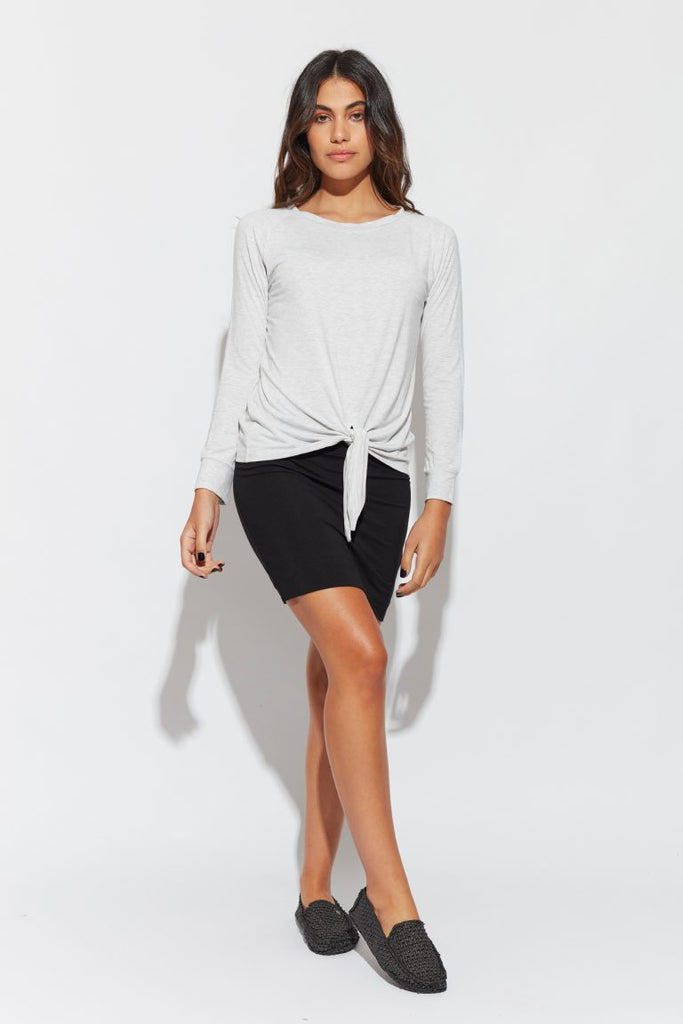 THE TORI SWEAT - GREY MARLE