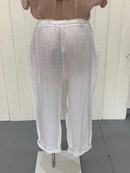 BELLADONNA PANTS - WHITE