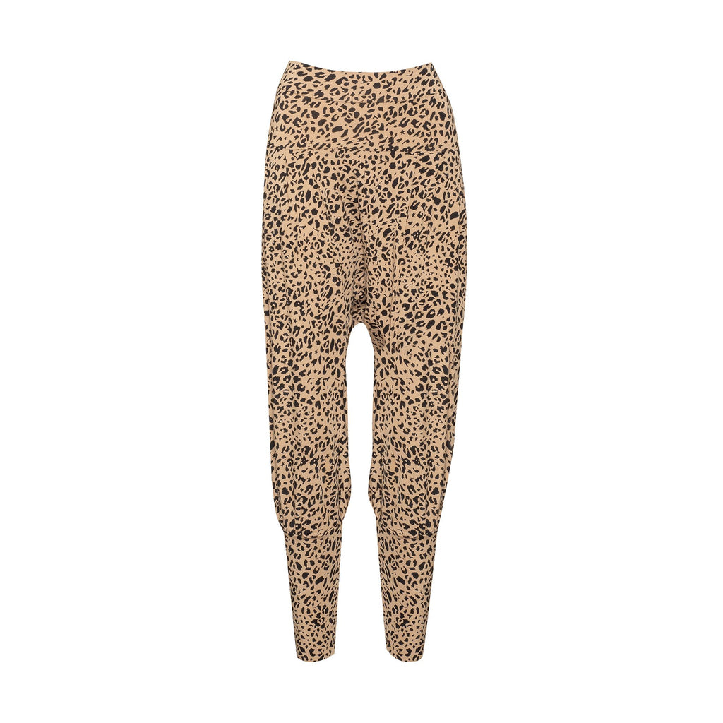 THE LANA PANT - LEOPARD