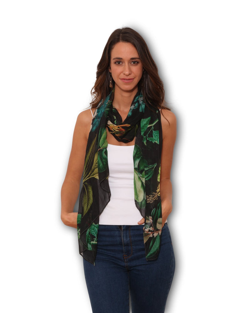 SMALL SCARF - BOTANICAL COLLECTION