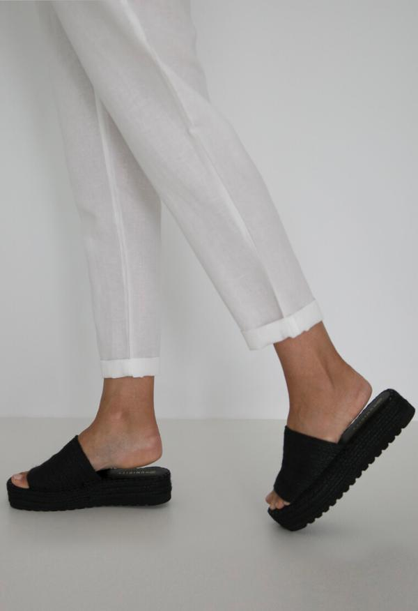 DAISY WEDGE - BLACK