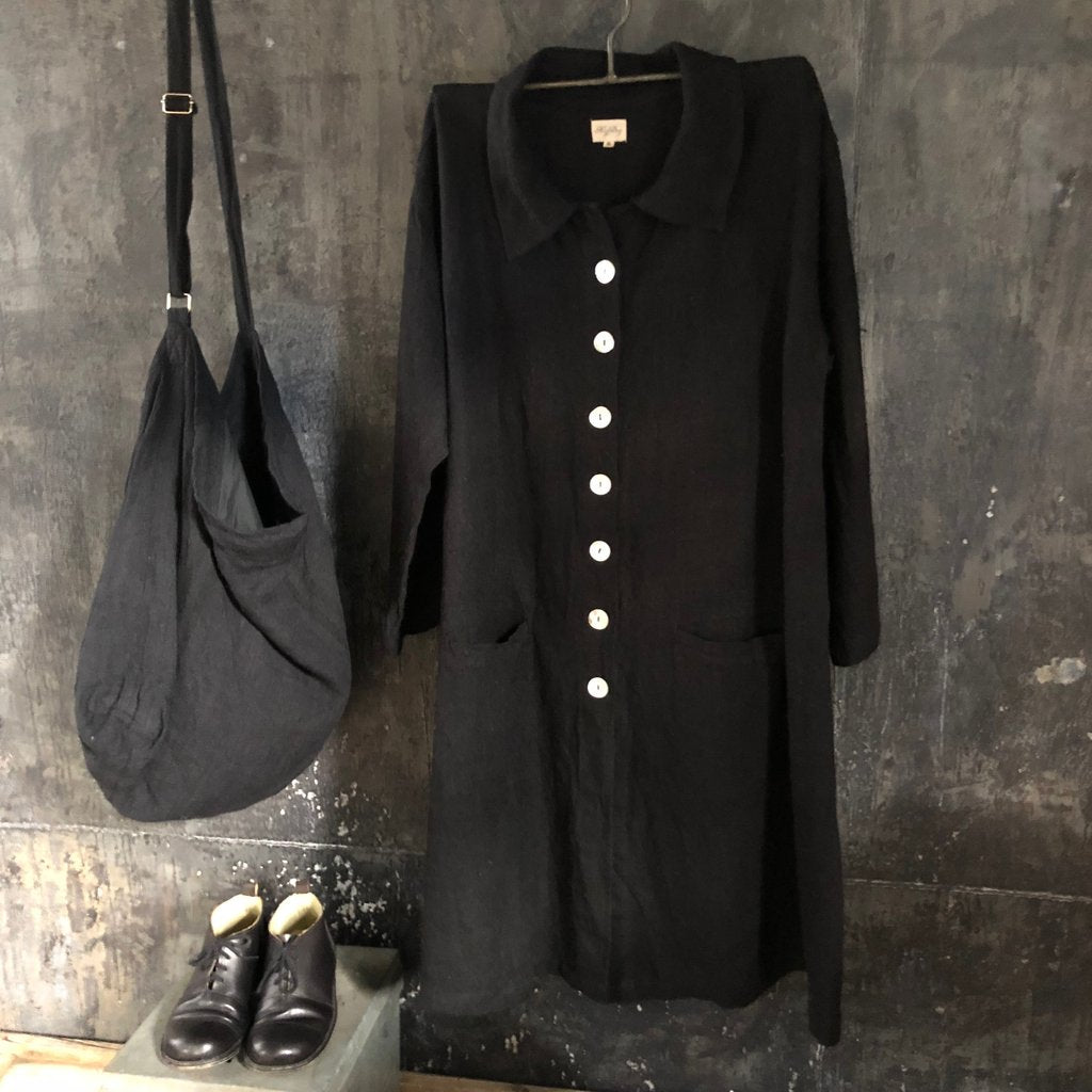 MANON COAT - BLACK