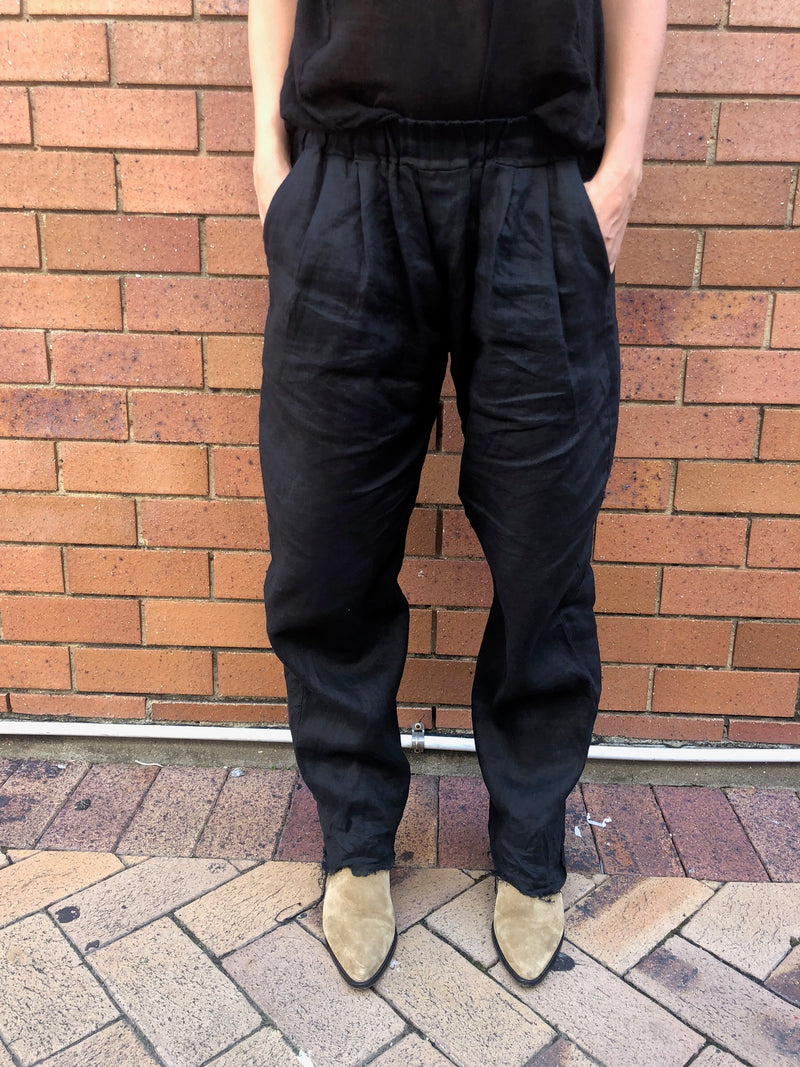THE LUXE PANT - BLACK
