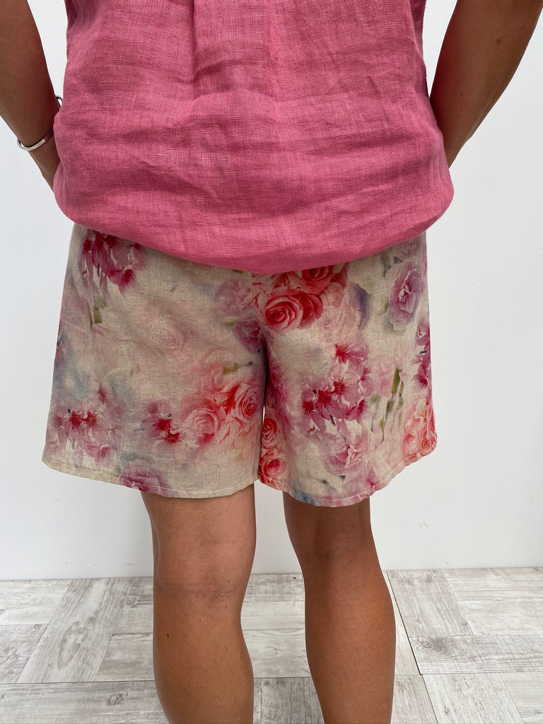 HINLEY SHORTS - DUSTY FLORAL