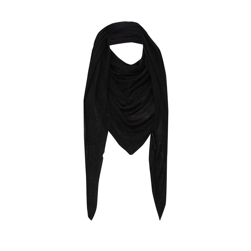 THE SASSOON MERINO SCARF - BLACK