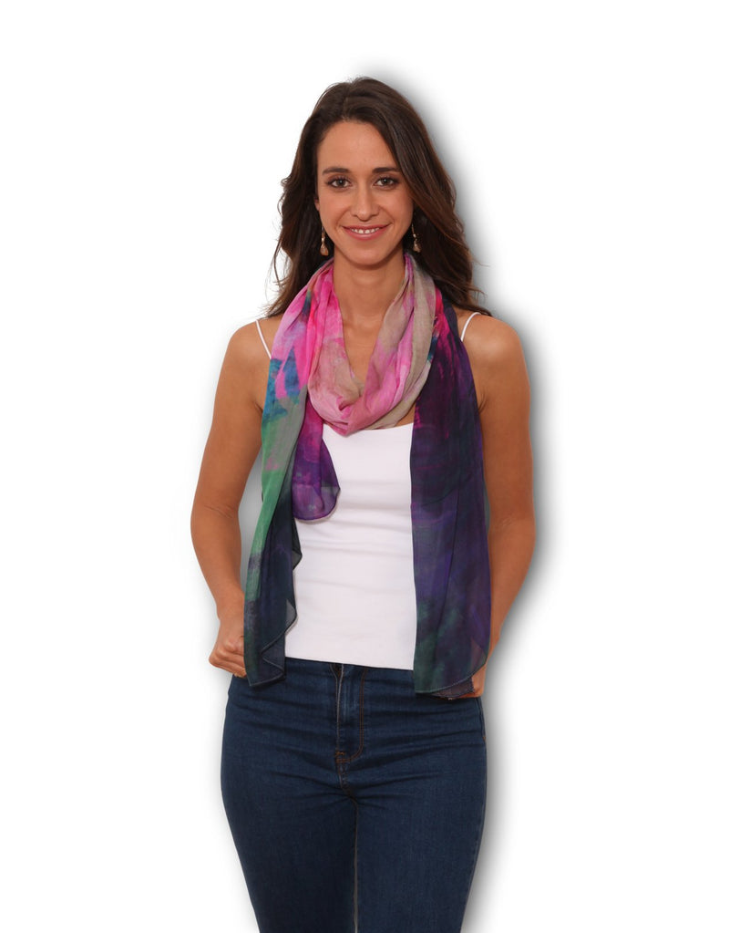 SMALL SCARF - NATIVE FLORAS
