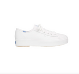 TRIPLE KICK LEATHER SNEAKER - WHITE
