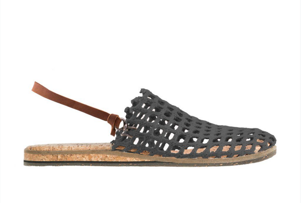 FISHING NET SANDALS - INK GREY