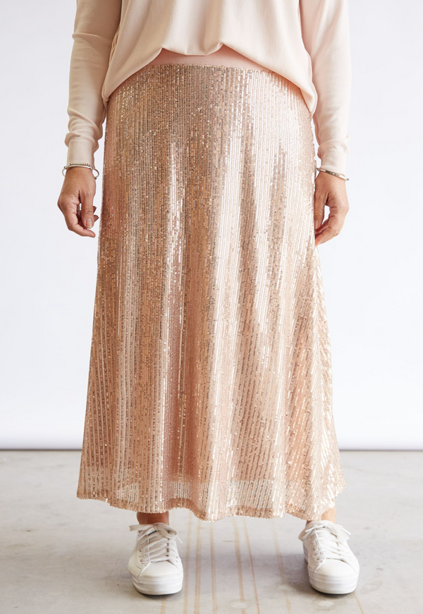 PRISCILLA SKIRT - ROSE GOLD