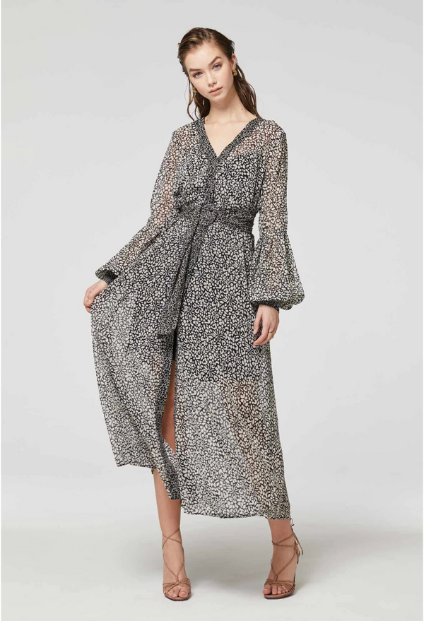 ROMANY COAT DRESS - PERCEPTION PRINT