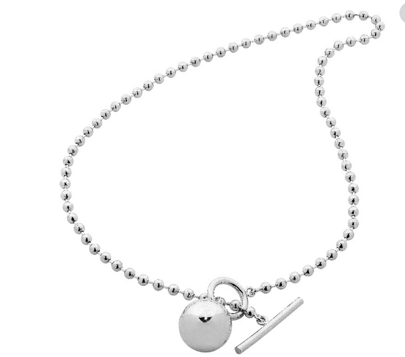 C MINOR NECKLACE - SILVER