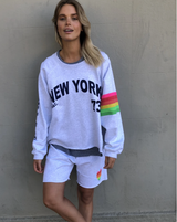 NEW YORK RETRO SWEAT - LITE GREY