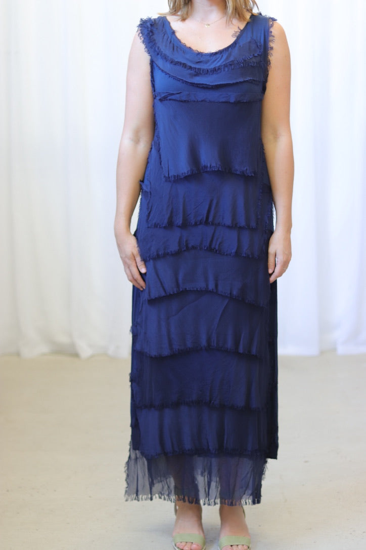 KITTY DRESS - NAVY