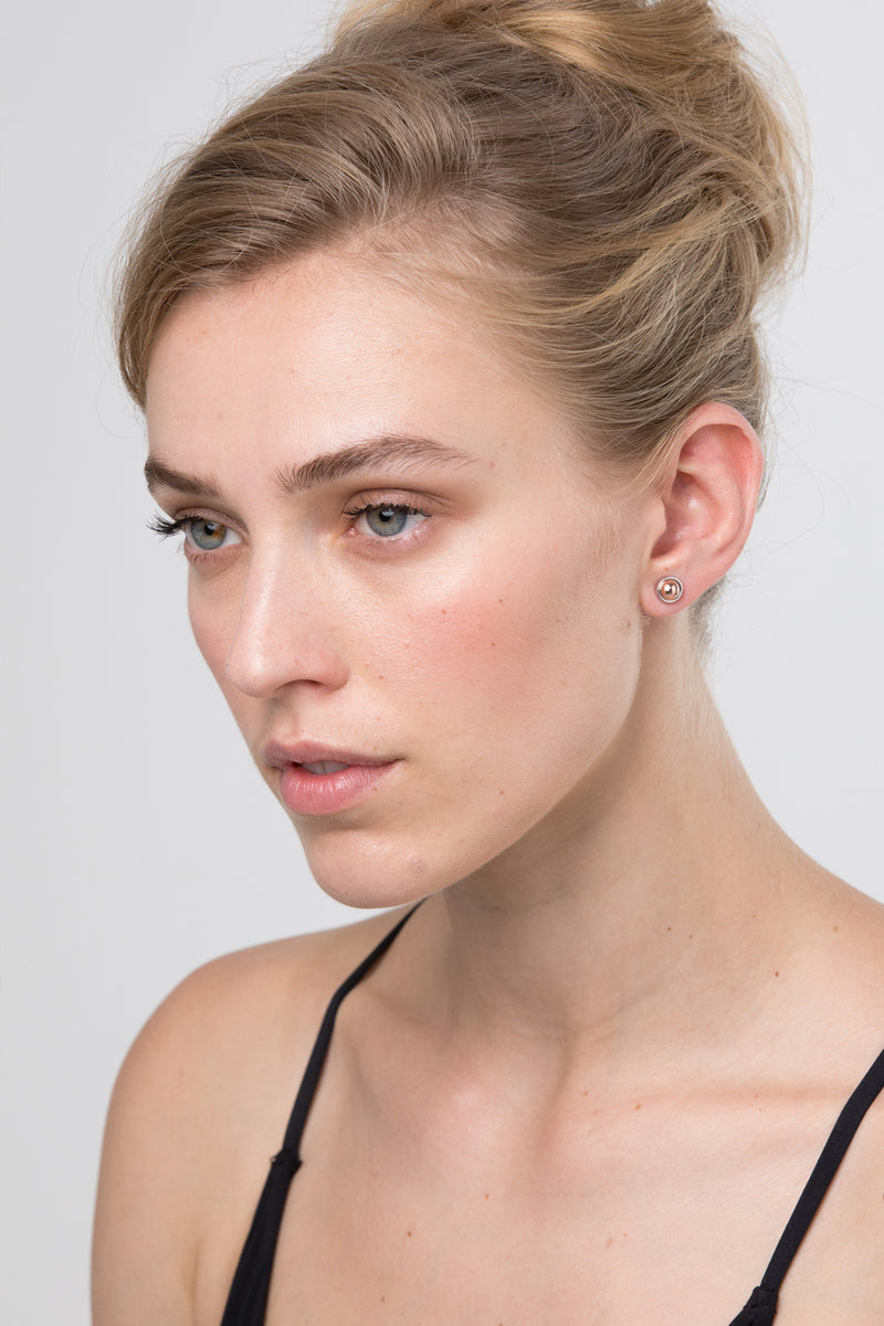 HARRIETTE EARRING - ROSE GOLD