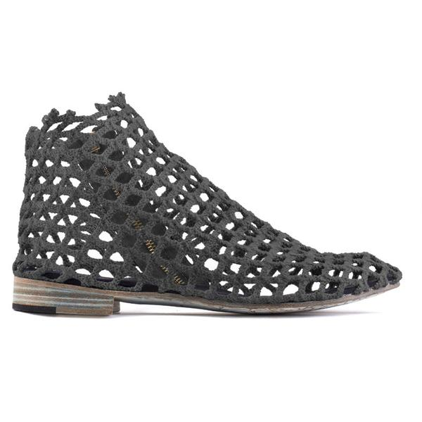 FISHING NET BOOT - INK GREY