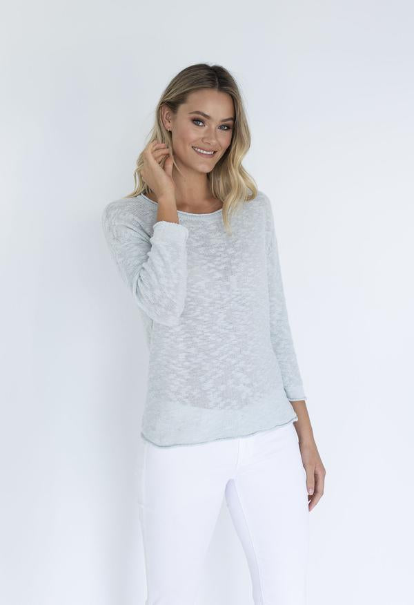 SOPHIA SWEATER - ICE BLUE