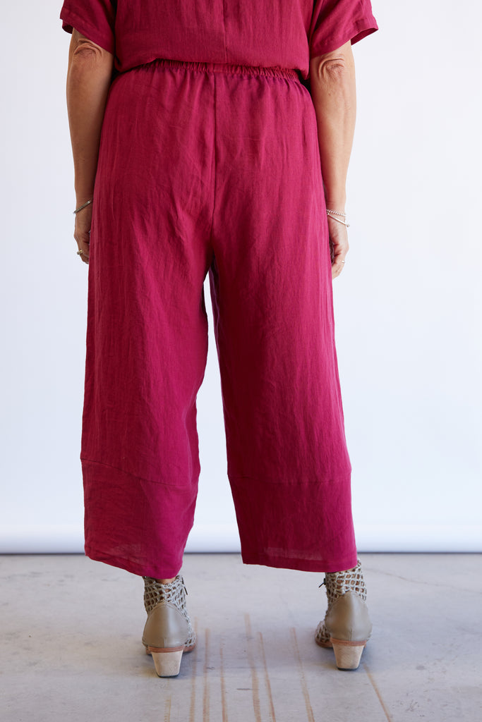 PEARCE PANT - RASPBERRY