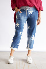 STAR PANTS - DENIM
