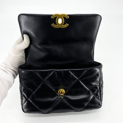 Chanel Black 19 Bag