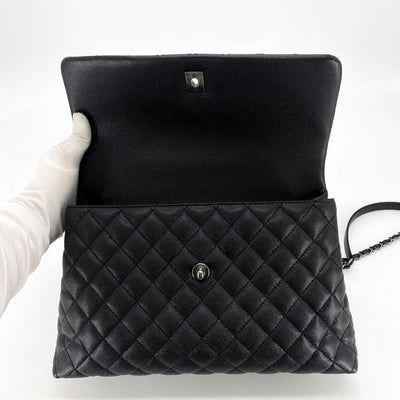 Chanel Medium Coco Handle Black