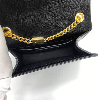 Saint Laurent Kate Crossbody Black